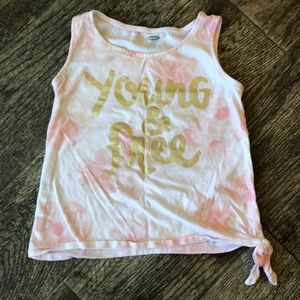 Old navy young and free tank